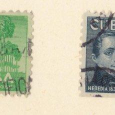 Sellos: FC298- CUBA AÉREOS 33/34. Lote 115532891