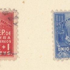 Sellos: FC303- CUBA 255/56. Lote 115532987