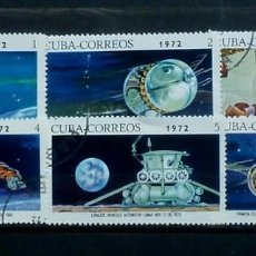 Sellos: CUBA-SERIE COMPLETA 1972, USADOS. Lote 119365131