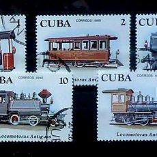 Sellos: CUBA- COMPLETA, USADOS-1980. Lote 119365539