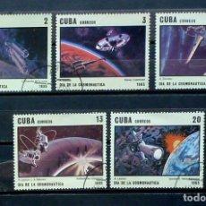 Sellos: CUBA-SERIE COMPLETA-1985. Lote 119365687