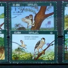 Sellos: CUBA-SERIE COMPLETA,USADOS-1978. Lote 119366147