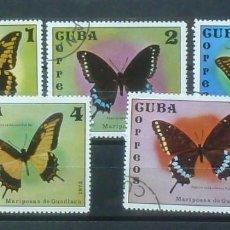 Sellos: CUBA-SERIE COMPLETA, USADOS. Lote 119473235