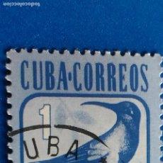 Sellos: SELLO DE CUBA. DE LA SERIE YVERT 2316/21. ZUN ZUN. AÑO 1981. FAUNA - AVES. CUBA CORREOS.. Lote 121198295