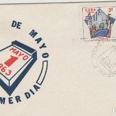 Sellos: SOBRE PRIMER DIA 1 DE MAYO CUBA SELLOS. Lote 127746215