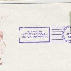 Sellos: SOBRE MATA SELLOS CUBA INFANCIA 1962. Lote 127847495