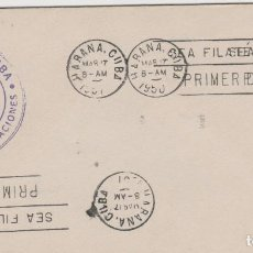 Sellos: SOBRE PRIMER DIA MATA SELLOS CUBA AÑO 1951. Lote 127980811
