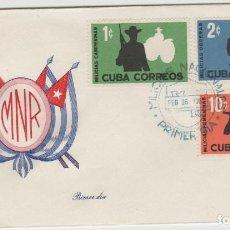 Sellos: SOBRE PRIMER DIA CUBA SELLOS. Lote 128101779