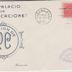 Sellos: SOBRE MATA SELLOS CUBA 1957. Lote 128104899