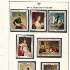 Sellos: SELLOS COLECCIÓN 1969-1975 CORRESPONDIENTES A CUBA 1969 ORIGINALES (VER FOTO ESCÁNER). Lote 133684562