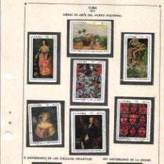Sellos: SELLOS COLECCIÓN 1969-1975 CORRESPONDIENTES A CUBA 1971 ORIGINALES (VER FOTO ESCÁNER) INCOMPLETA. Lote 133841634