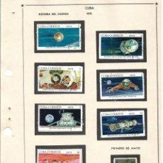 Selos: SELLOS COLECCIÓN 1969-1975 CORRESPONDIENTES A CUBA 1972 ORIGINALES (VER FOTO ESCÁNER). Lote 133842714