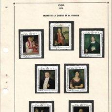 Sellos: SELLOS COLECCIÓN 1969-1975 CORRESPONDIENTES A CUBA 1972 ORIGINALES (VER FOTO ESCÁNER). Lote 133842794