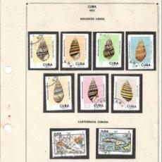 Sellos: SELLOS COLECCIÓN 1969-1975 CORRESPONDIENTES A CUBA 1973 ORIGINALES (VER FOTO ESCÁNER) . Lote 134313682