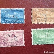 Sellos: LOTE 4 SELLOS CORREO AEREO 1931 USADO. Lote 134343710