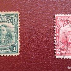 Sellos: LOTE 2 SELLOS DE CUBA 1910 USADOS. Lote 134344118