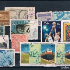 Sellos: LOTE DE SELLOS USADOS DE CUBA. Lote 137460866