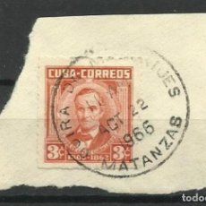Sellos: CUBA- 1966. Lote 139898002