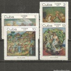 Sellos: CUBA YVERT NUM. 1444/1447 SERIE COMPLETA NUEVA SIN GOMA. Lote 140788018