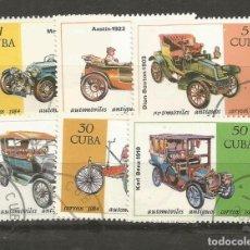 Sellos: CUBA YVERT NUM. 2586/2591 SERIE COMPLETA MATASELLADA. Lote 140789062