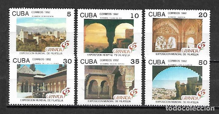 CUBA SERIE COMPLETA NUEVA PERFECTA 1992 (Sellos - Extranjero - América - Cuba)