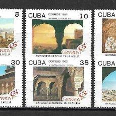 Selos: CUBA SERIE COMPLETA NUEVA PERFECTA 1992. Lote 145185138