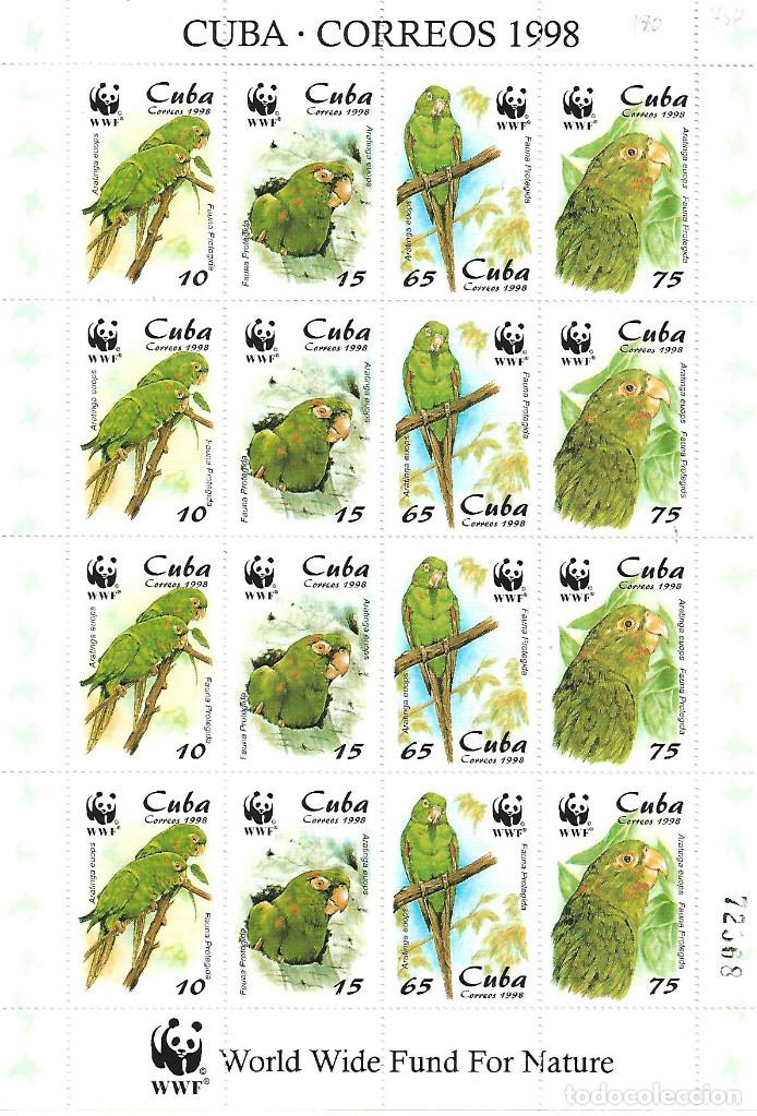 CUBA PLIEGO DE CUATRO SERIES COMPLETA NUEVA PERFECTA 1998 (Sellos - Extranjero - América - Cuba)
