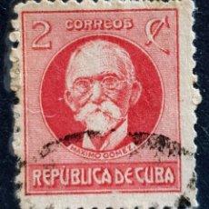 Sellos: CUBA - MAXIMO GOMEZ - 2 C - 1917. Lote 146639462