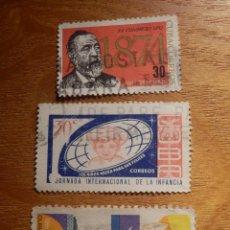 Sellos: LOTE 3 SELLOS USADOS EXTRANJERO - CUBA. Lote 147419718