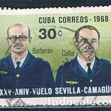 Sellos: SELLO USADO CUBA 1968 MI 1407. Lote 147949410