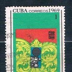 Sellos: SELLO USADO CUBA 1969 MI 1490. Lote 147949418