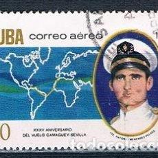 Sellos: SELLO USADO CUBA 1970 Y PA252 MI 1662. Lote 147949526