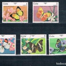 Sellos: SELLO USADO CUBA 1984 Y 2515 A 2519 MI 2821 A 2825 VER EXPLICACIÓN. Lote 147949570