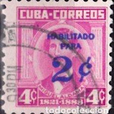 Sellos: 1960 - CUBA - CELEBRIDADES - MIGUEL ALDAMA - YVERT 528. Lote 148909602