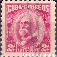 Sellos: 1954 - CUBA - CELEBRIDADES - MAXIMO GOMEZ - YVERT 403. Lote 148951666