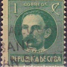 Sellos: 1917 - CUBA - CELEBRIDADES - MARTI - YVERT 175. Lote 148969962