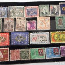 Sellos: 112 SELLOS DE CUBA. Lote 155757698