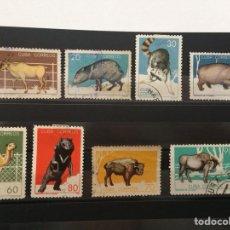 Sellos: SELLOS ZOOLÓGICO DE LA HABANA 1964. Lote 155765048