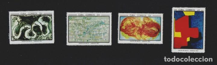 Sellos: CUBA, Salón de Mayo.La Habana 1.967. 16 sellos nuevos. - Foto 2 - 157766678