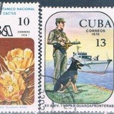 Sellos: CUBA 1978 - YVERT 2045 + 2053 + 2055 + 2057 ( USADOS ). Lote 158720478