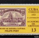 Sellos: CUBA 1555** - AÑO 1972 - 10º ANIVERSARIO DE LA ACADEMIA DE CIENCIAS. Lote 160830626
