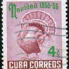 Sellos: 1955. CUBA .NAVIDADES.1955-56. 4Ç.*MH. Lote 161021990