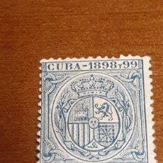 Sellos: ESCUDO DE CUBA 1898 Y 99. 5 C. DE PESO.. Lote 171790910