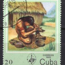 Sellos: CUBA 1985 - SELLO USADO. Lote 174483277