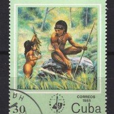 Sellos: CUBA 1985 - SELLO USADO. Lote 174483292