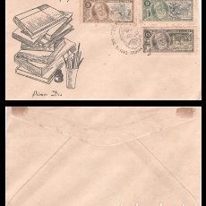 Sellos: CUBA, SOBRE PRIMER DIA 1963 ERNEST HEMINGWAY.. Lote 178238245