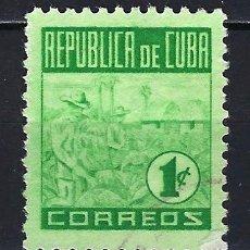 Timbres: CUBA 1950 - TABACO HABANO - MICHEL 229 YVERT 330 - NUEVO*. Lote 178618936