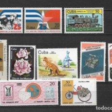 Sellos: CUBA LOTE SELLOS ** - 6/23. Lote 179100345