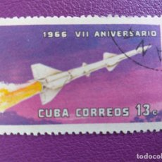 Sellos: CUBA. AÑO 1966. YVERT 954. TEMÁTICA: AVION. Lote 179102963