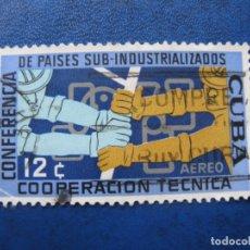 Sellos: CUBA 1961* CONFERENCIA PAISES SUB-INDUSTRIALIZADOS, YVERT 218 AEREO. Lote 179826701